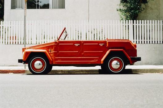 Car, Old, Red, Vintage