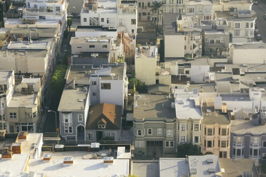 City, Houses, Village