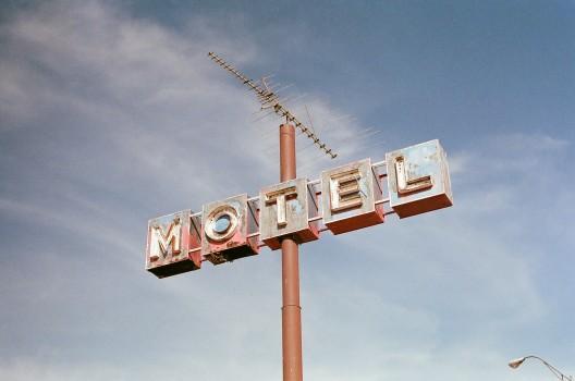 Hotel, Motel, Sign