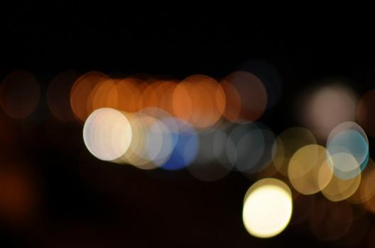 Abstract, Lights, Long-exposure, Night
