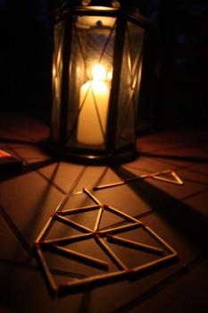 Candle, Dark, Matches, Night