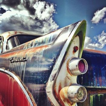 Car, Coronet, Oldtimer, Rust