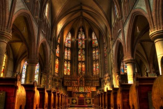 Cathedral, Catholic, Christianity, Church