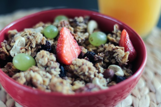 Breakfast, Food, Fruits, Healthy
