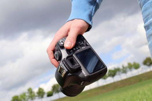 Camera, Canon, Dslr, Man