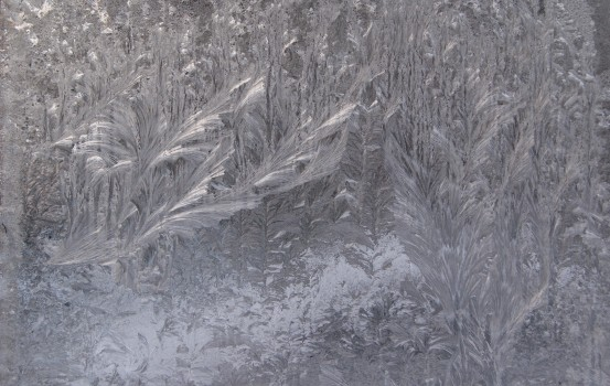 Frozen, Ice, Window