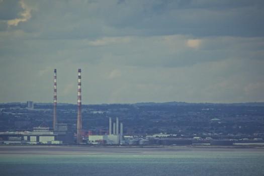 Chimneys, Factory, Industry