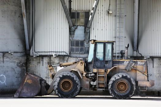 Construction, Excavator, Site, Tractor