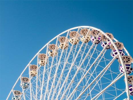 Amusement Park, Big Wheel, Ferris Wheel, Funfair