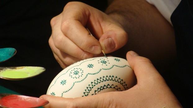 Art, Easter, Egg, Painting