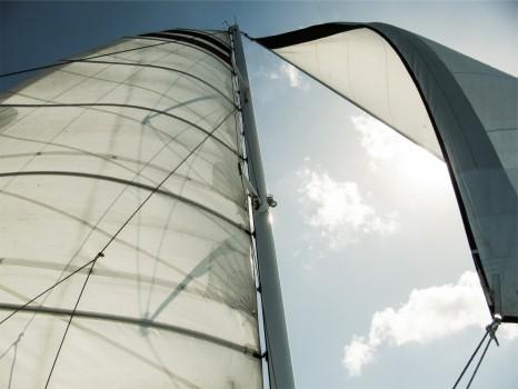 Lake, Sail, Sailboat, Sailing