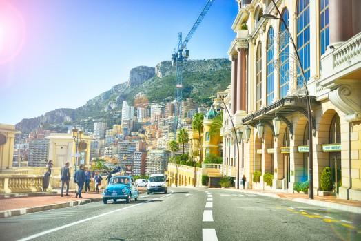Boardwalk, Buildings, Cars, City